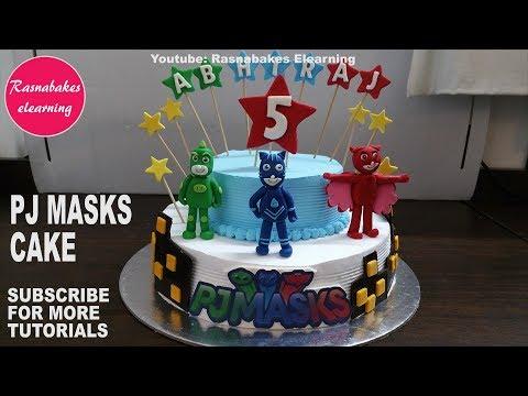 Pj Masks Owlette Birthday Cake Tutorial