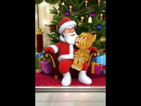 Talking santa sings big brother 2013 intro denmark