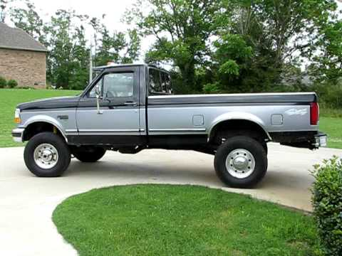 1996 f 350 7 3 powerstroke youtube. Black Bedroom Furniture Sets. Home Design Ideas