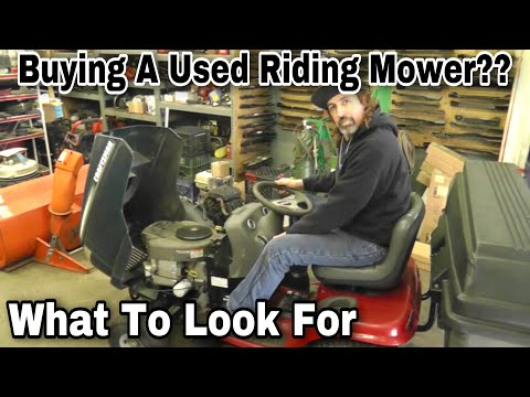 What To Look For When Buying A Used Lawn Tractor With Taryl