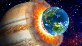 What If Earth Struck The Biggest Planets? - Solar Smash