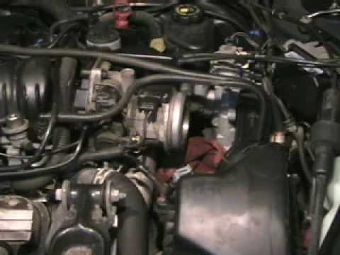 2003 cadillac cts engine diagram 24v trailer wiring clean throttle bore to repair idle and starting problems. - youtube