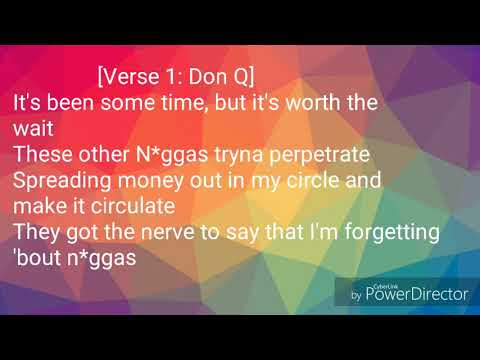 Don Q & A Boogie Wit Da Hoodie Ft. 50 Cent & Murda Beatz- Yeah Yeah (Lyric Video)