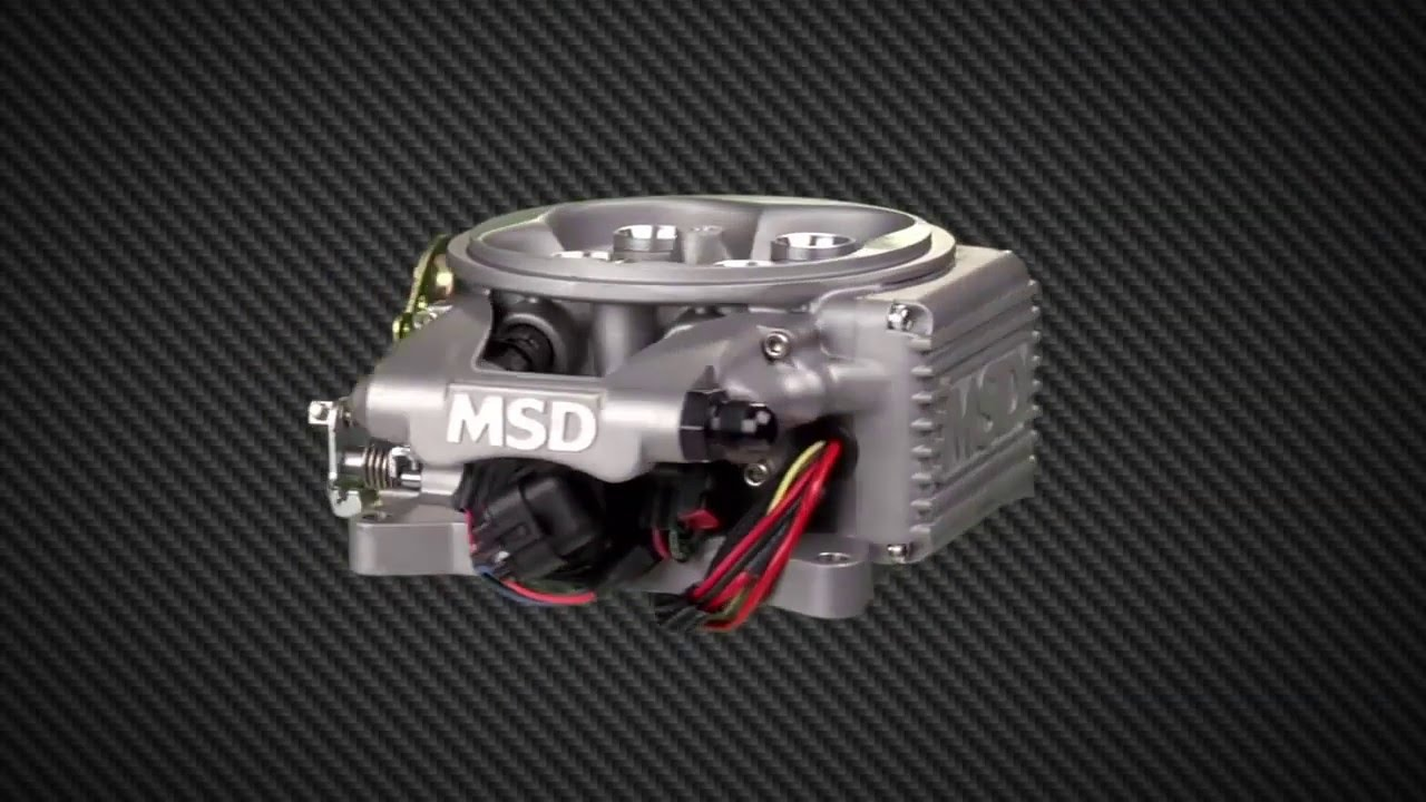 MSD Ignition Atomic EFI Master Kit Max 525 HP