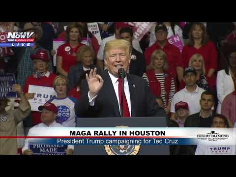 FULL MAGA RALLY: Pres. Trump Campaigns for Ted Cruz in Houston, Texas (FNN)