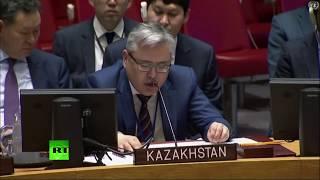 Заседание Совбеза ООН по ситуации на Ближнем Востоке