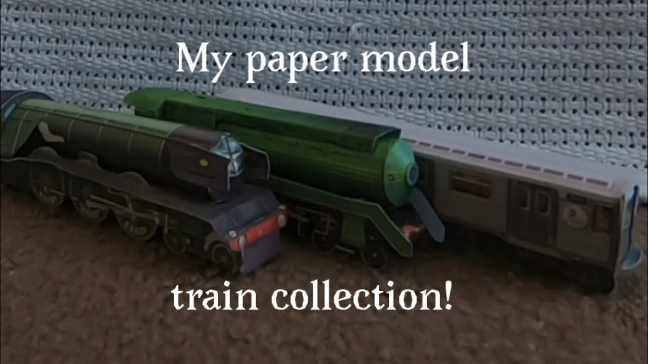 23/09/2018· in this video you will see how to make a paper folding train.you can buy this at new delhi railway station at pf1 at souvenir shop.hello my name is divy. My Paper Model Train Collection Pt 2 Youtube