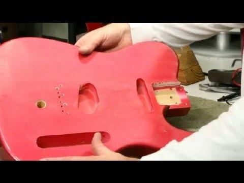 How to Relic a Guitar Body : Guitar Building & Repair