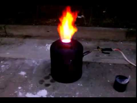 DIY Metal Melting Furnace