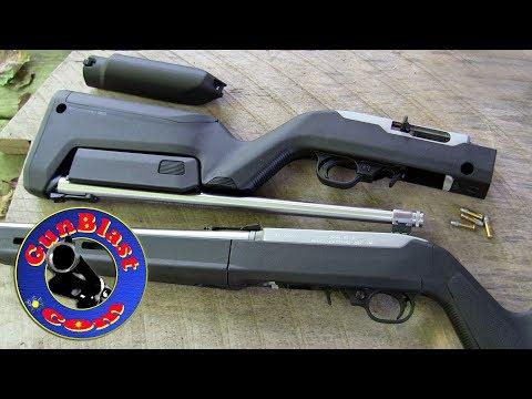 Davidson's EXCLUSIVE Ruger 10/22 Takedown Magpul Hunter & Backpacker Rifles - Gunblast