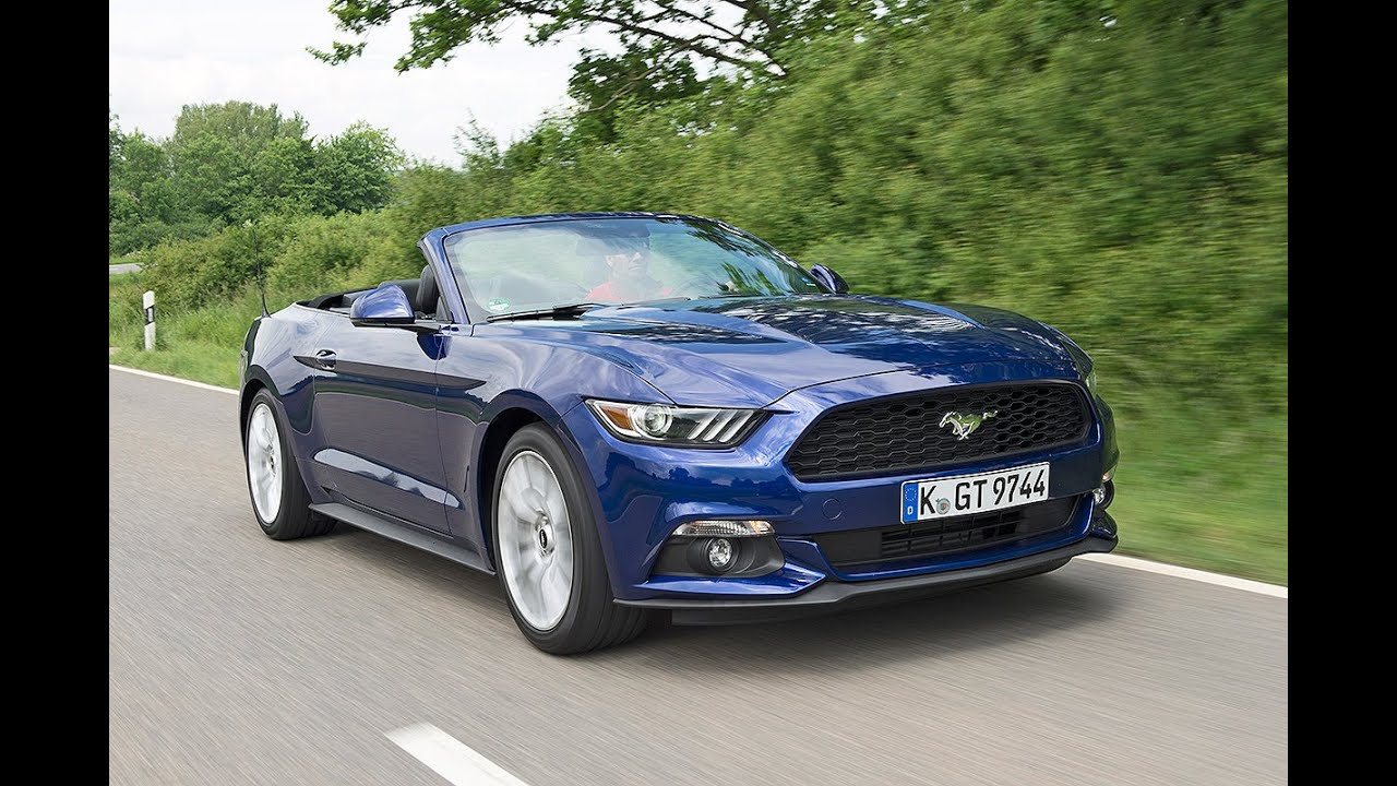 ford mustang 2 3 ecoboost au en mustang innen pony 2015 youtube. Black Bedroom Furniture Sets. Home Design Ideas