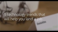 Five technology trends that may help you land a job