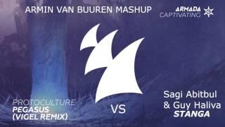 Sagi Abitbul & Guy Haliva vs. Protoculture & Vigel - Stanga vs. Pegasus (Armin van Buuren Mashup)