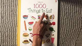 "Usborne's ""1,000 Things to Eat"""