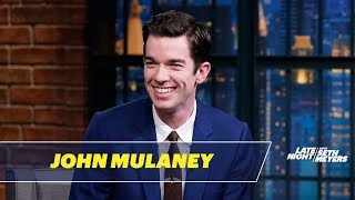 John Mulaney Didn't Appreciate Being Upstaged by a Proposal at the Emmys thumbnail
