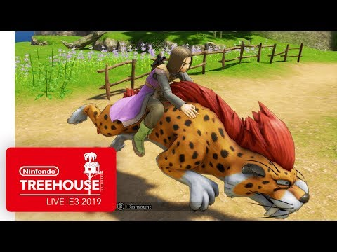 DRAGON QUEST XI S: Echoes of an Elusive Age - Definitive Edition Gameplay | Nintendo Treehouse: Live