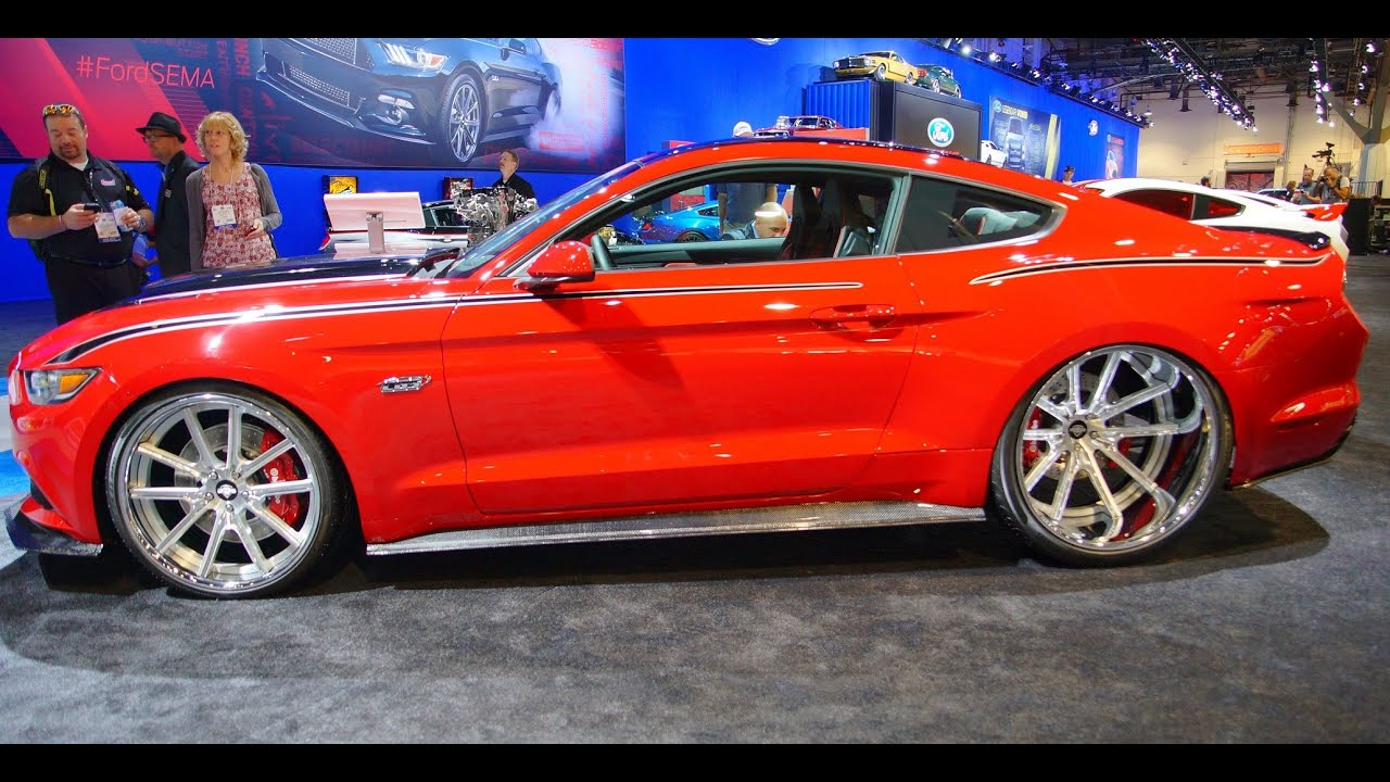2015 Mustang Rims >> 2015 CGS Performance Mustang at SEMA 2014 - YouTube