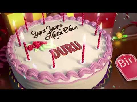 İyi ki doğdun DURU - İsme Özel Doğum Günü Şarkısı
