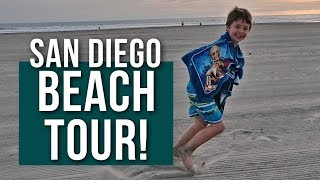 SAN DIEGO BEACH TOUR 2019 //  Winter in So Cal [RV LIVING WITH KIDS]