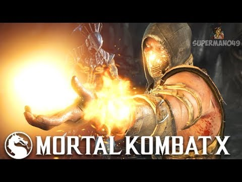 """PLAYING HELLFIRE SCORPION FOR THE FIRST TIME IN YEARS! - Mortal Kombat X: """"Scorpion"""" Gameplay"""