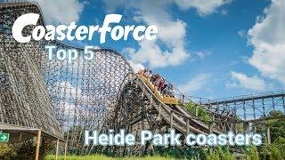 Top 5 Heide Park coasters