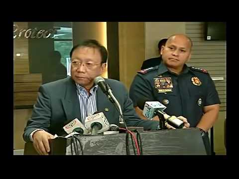 PNP CHIEF RONALD DELA ROSA & SOLICITOR GENERAL JOSE CALIDA @ PNP PRESS CONFERENCE FULL VID