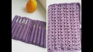 Обзор: органайзер для крючков/ crochet hook case.