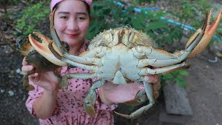 Yummy Mud Crab Cooking Glass Noodle - Mud Crab Recipe - Cooking With Sros