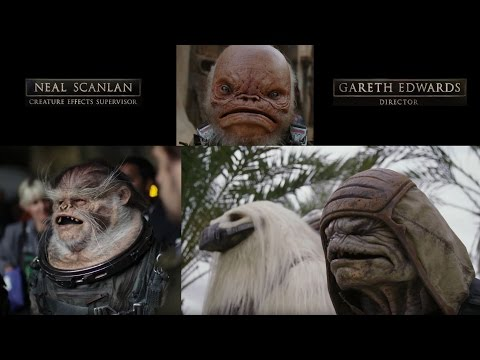 "Star wars Rogue One ""Creature Featurette"""