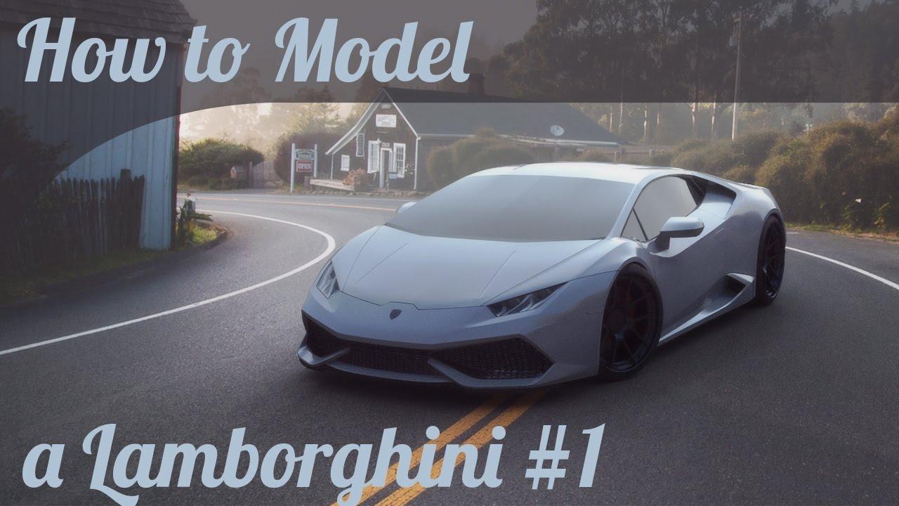 Autodesk Maya Car Modelling