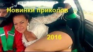 Новинки приколов 2016. Приколы 2016 -  Новенькие и свежие нарезки приколов 2016 № 1