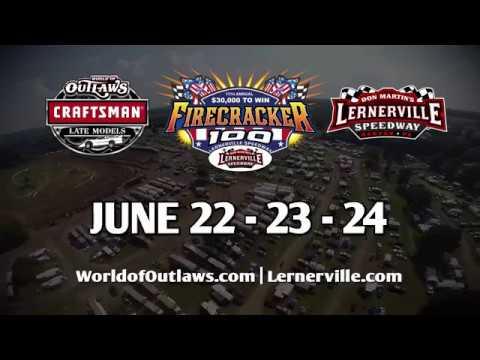 Firecracker 100 | June 22-24 | Lernerville Speedway