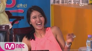 [STAR ZOOM IN] [Legend of God of Music 2] Hwangbo laughing hard with her mouth open 160325 EP.56