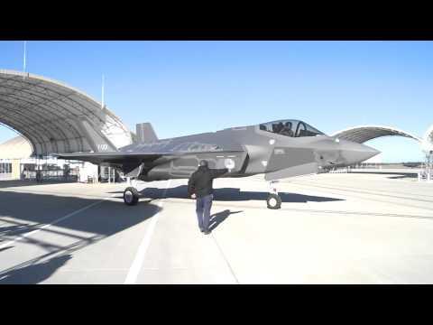 Eerste vlucht van een Nederlandse vlieger op de F-35