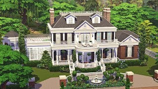 Colonial Estate || The Sims 4 Family Home: Speed Build Part 1