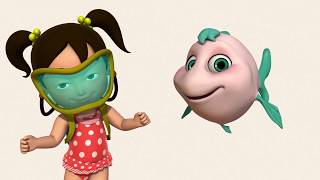 Английский язык для малышей - Мяу-Мяу  - Dragon Princess Part 1-2  (Принцесса драконов 1-2)