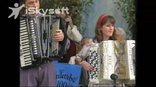 Anders Larsson och Annika Andersson jularbo 100 år