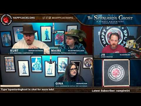 The Spaniard's Ghost - Savage Worlds #04 PART 1(Technical Difficulties) - #rpg #tabletop