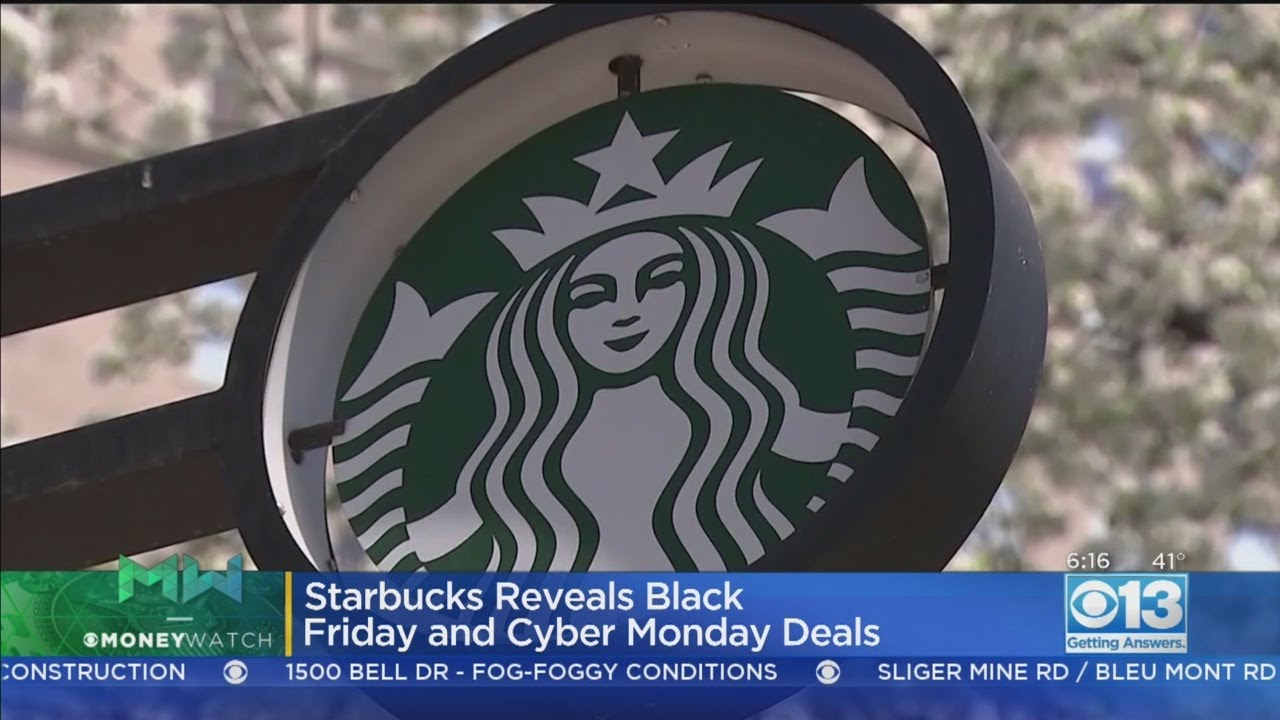 Starbucks offers free coffee for a month deal on Black Friday