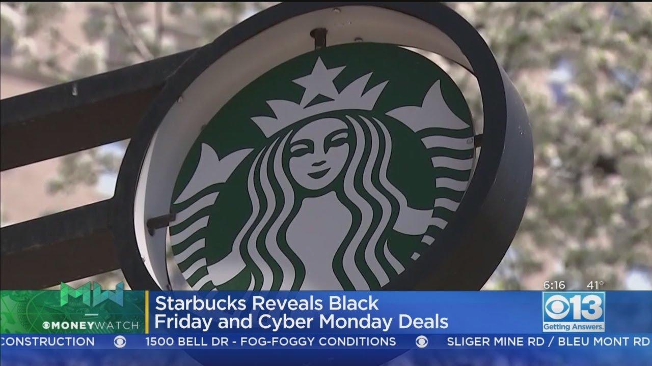 Starbucks offering Black Friday, Cyber Monday deals