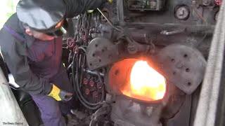 Illinois Railway Museum: Frisco #1630 Cab Ride Video Video