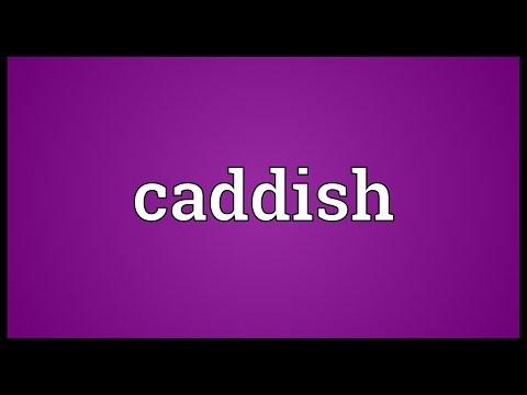 Header of caddish