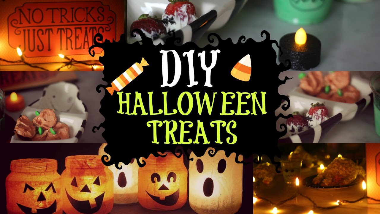 Quick, Easy, and Affordable DIY Tumblr Inspired Halloween Treats ...