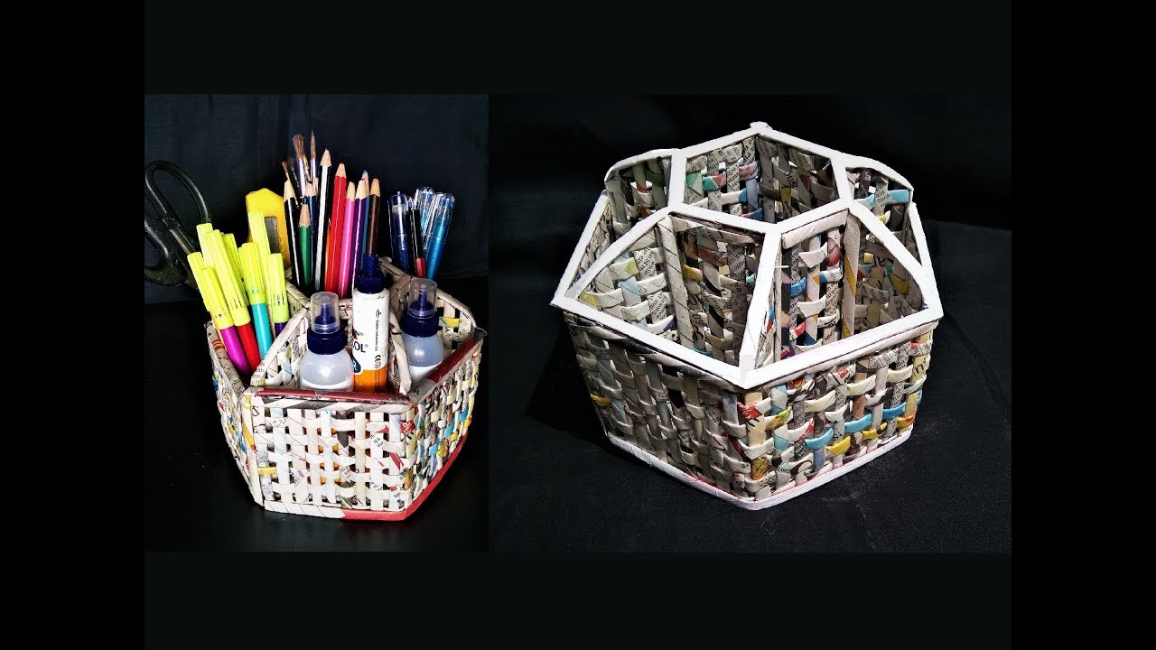 Craft How To Make A Pencil Holder