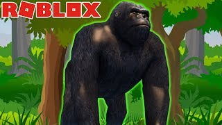 GIANT ANIMALS IN THIS ZOO-Roblox (ft JazzGhost)