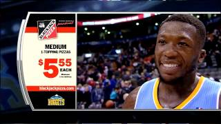 Nate Robinson On Court Interview After Denver Nuggets Win at Toronto Dec 1, 2013