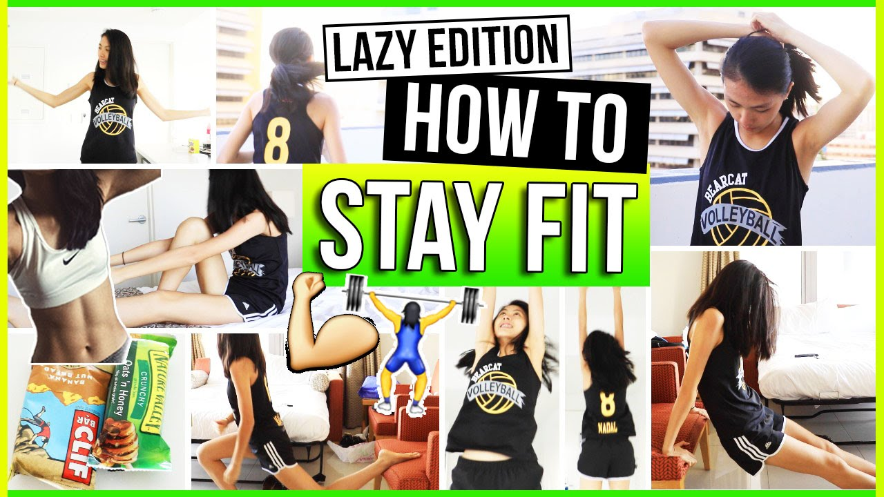 How to Stay Fit & Healthy for LAZY PEOPLE! Fitness