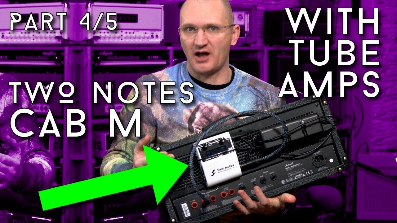 two notes torpedo cab m part 4 5 with your tube amp youtube. Black Bedroom Furniture Sets. Home Design Ideas