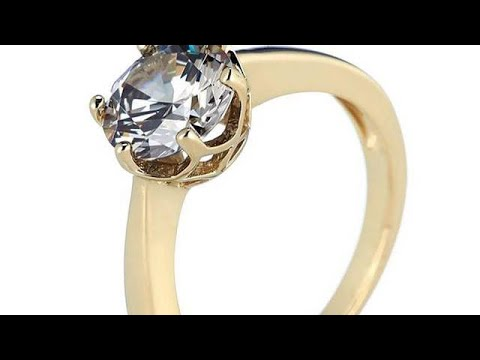 ELITE ONLINE SHOPPING LTD - 2ct Simulated Grey Diamond Solitaire Ring Sterling Silver