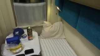 Секретное V P Место в Купейном Вагоне Поезда. Очень Комфортно.